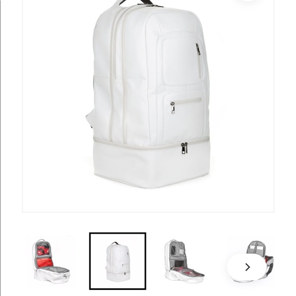 Tsa Approved Solepremise White Sneaker Travel Bag Nwt